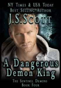 A Dangerous Demon King Cover